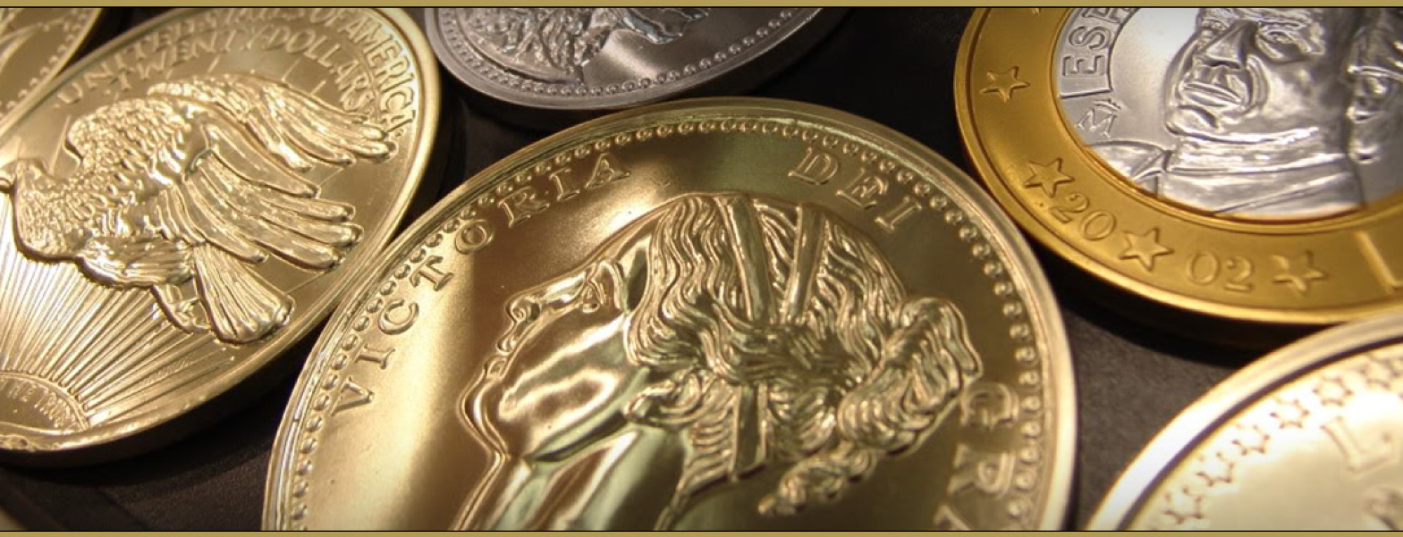 Gold- und Silbermünzen bei Münzhandel Unshelm