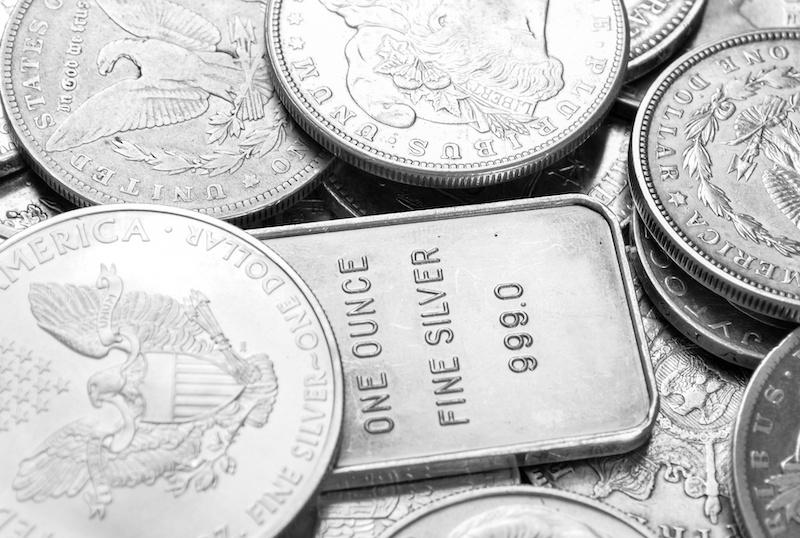 Ankauf von Silber bei Münzhandel Unshelm